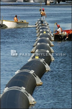 Применение полиэтиленовых труб в морской воде