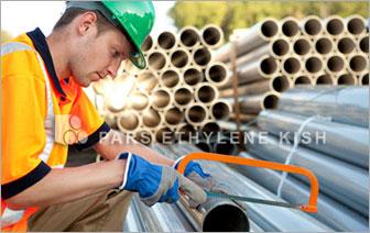 الأنابيب البلاستيكية (البولي فينيل كلورايد) (U-PVC)