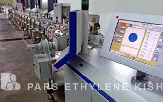 خط إنتاج أنابيب البولي ايثيلين